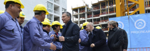 Macri announces expansion of housing plan promoted by Kirchner