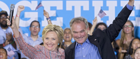 Bill Clinton backing Kaine for Democratic VP pick