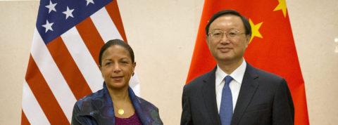 """Susan Rice califica de """"práctica"""" la cooperación China y EE.UU. en varias áreas"""