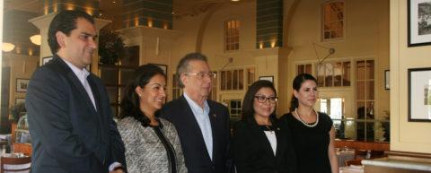 Encuentro de los medios con el Embajador Mauricio Toussaint, Cónsul de México en San José