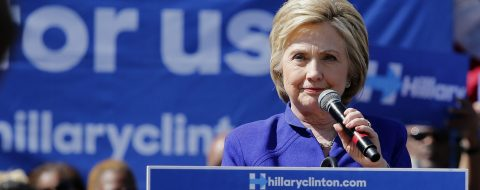 """Clinton: """"Inciting of violence"""" in Trump's remarks to gun rights defenders"""