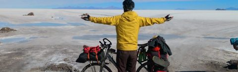 Spanish cancer survivor touring Latin America by bike
