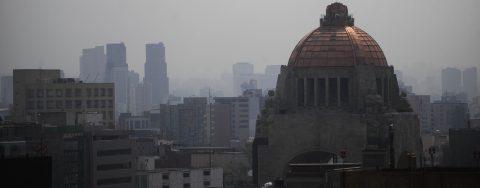 Activan emergencia ambiental en Valle de México por elevado nivel de ozono