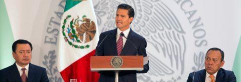 Peña Nieto anuncia plan para combatir repunte de homicidios en 50 municipios