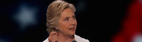 Clinton releases tax return, asks Trump to do the same