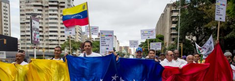 Toma de Caracas: Miles piden salida de Maduro