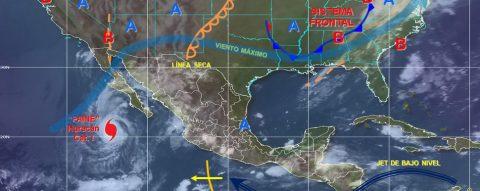 Establecen zona de prevención en noroeste de México por huracán Paine