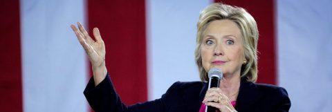 Clinton cancels campaign trip to California after pneumonia diagnosis