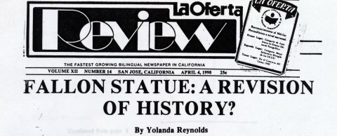Fallon Statue: A revision of History?