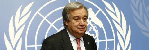 ONU nombra a Antonio Guterres como nuevo secretario general