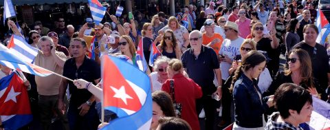 Castro's death sparks emotions, expectations in Miami