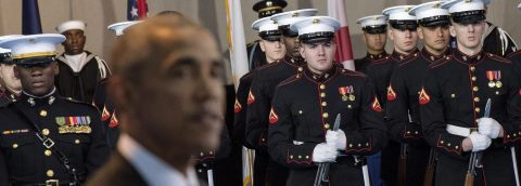 Obama: Military is to protect US, not to be used politically