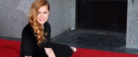 Amy Adams recibe su estrella en el Paseo de la Fama de Hollywood