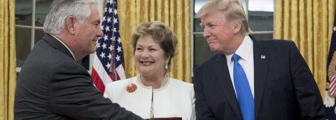 Senate confirms Tillerson as Trump's secretary of state