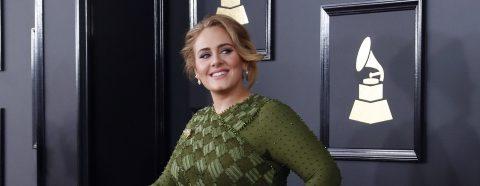 """""""25"""", de Adele, mejor álbum del año en los Grammy"""