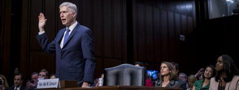 Democrats begin campaign against Trump's Supreme Court nominee