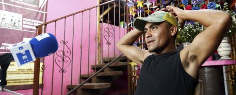 """Fredy y Miguel Ángel, dos hondureños empeñados en alcanzar la """"jaula de oro"""""""