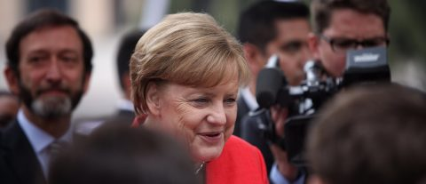Merkel speaks of her love for science, admits difficulties at university