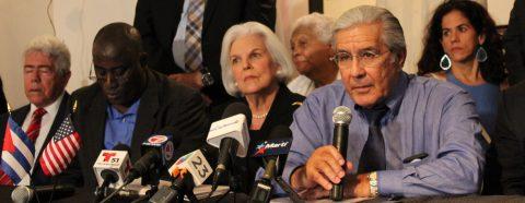 """Exilio cubano satisfecho con """"claro mensaje"""" de Trump al pueblo cubano"""