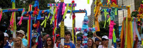 Venezuelan opposition holds religious demonstration for peace