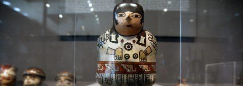 Exhibit showcases achievements of ancient Peru culture known for geoglyphs