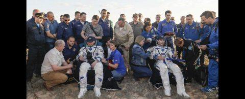 El regreso a Tierra de dos astronautas tras 200 días en Estación Espacial Internacional