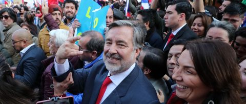 Chile ruling-party hopeful registers presidential candidacy