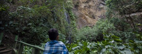 Wildlife refuge near Nicaragua's capital offers tourists waterfalls, hiking