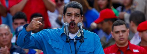 Maduro puts himself at party's disposal for re-election to presidency