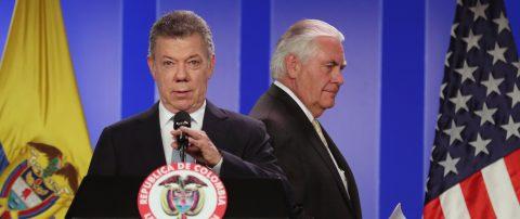 Colombia's Santos urges restoration of Venezuela's democracy