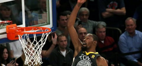 111-125. Thompson lidera el ataque ganador de Warriors, que hunden a Knicks