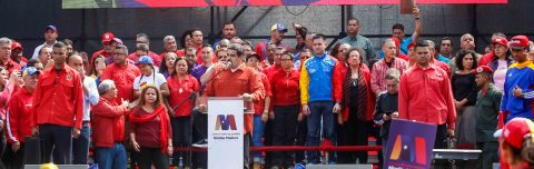 Venezuela's Maduro announces re-election candidacy