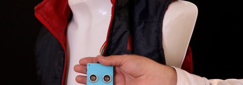 Mexicans design vest with sensors for visually impaired people