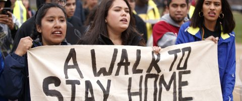 Dreamers walk from New York to DC to demand legal status