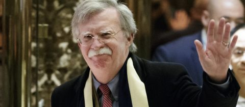 Trump names John Bolton as national security adviser