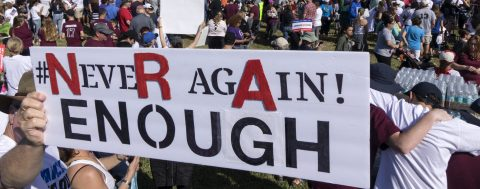 One Million people demand greater control over access to guns in US