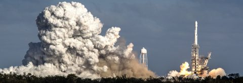 SpaceX launches rocket carrying 10 communication satellites