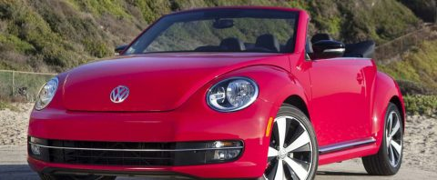 The new 2018 beetle convertible 2.0T Tune
