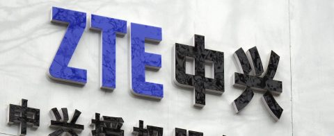 US companies banned from selling components to China's ZTE