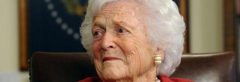 Fallece la ex primera dama Barbara Bush a los 92 años
