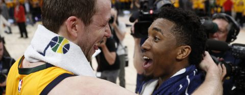 Mitchell leads the way as Jazz win Game 6 96-91, move on to semi-finals