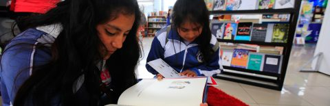 Migration the theme of Quito Storybook Marathon for youngsters