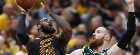 LeBron James leads Cavaliers to first win over Celtics