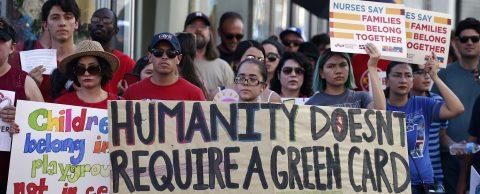 Activistas reclaman el imperio de la ley ante intención de Trump sobre asilo