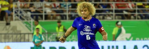 Colombia's Valderrama still enjoys iconic status 14 years after retirement