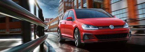 The new 2018 Volkswagen Golf TSI