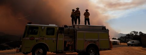 California fires devastate over 100,000 hectares as authorities battle blazes