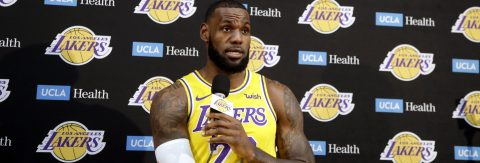 LeBron James sees a lot of work ahead for Lakers