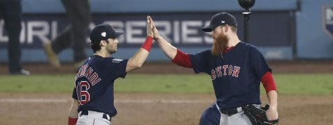 Red Sox rally to beat Dodgers in World Series Game 4