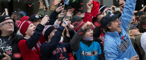 Boston celebrates Red Sox's latest title with huge parade